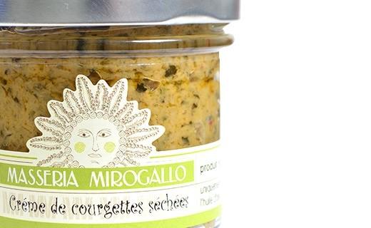 Pesto - dried courgettes - Masseria Mirogallo