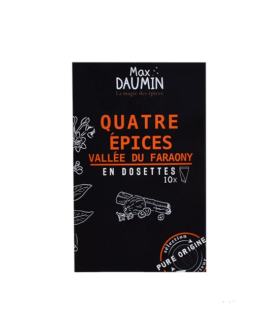 Blend of four spices - fresh pods - Max Daumin