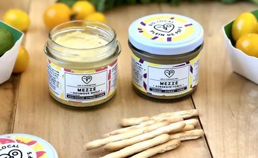 Chickpea meze with lemon and cumin - Houmous Music - Les 3 Chouettes