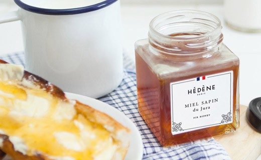 Fire honey from Jura - Hédène