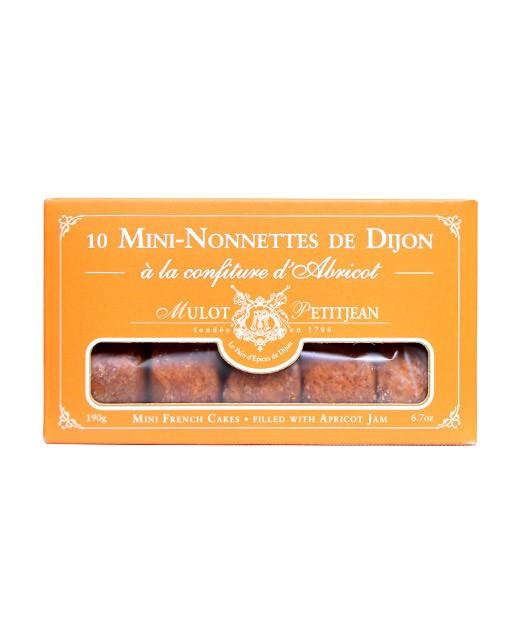 Mini-nonnettes of Dijon - Apricot jam - Mulot & Petitjean