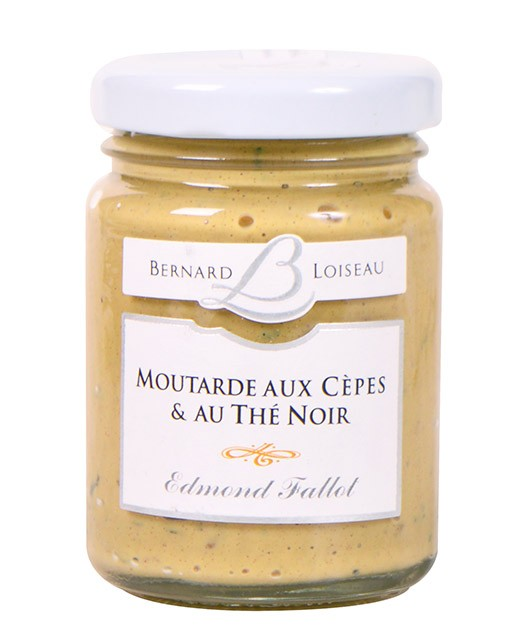 Mustard with Ceps and Smoked Tea - Fallot