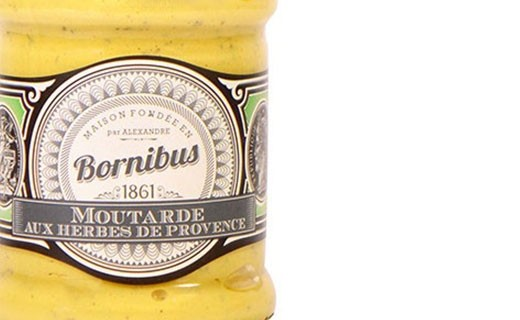 Mustard with Herbes de Provence - Bornibus