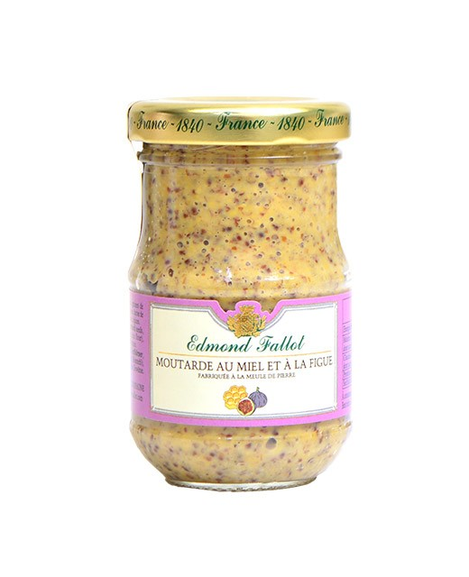 Mustard with honey and fig - Fallot