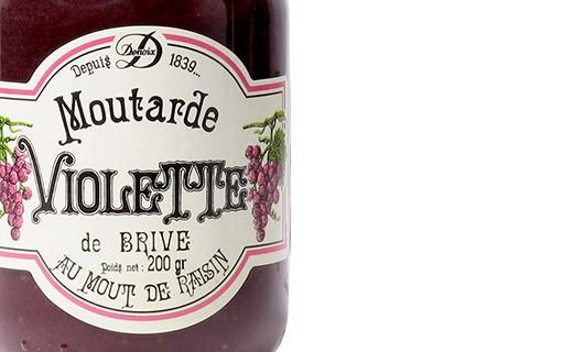 Brive purple Mustard - Denoix