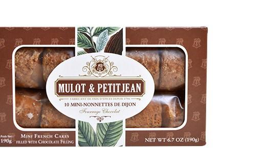 Mini-nonnettes of Dijon - chocolate flavour - Mulot & Petitjean