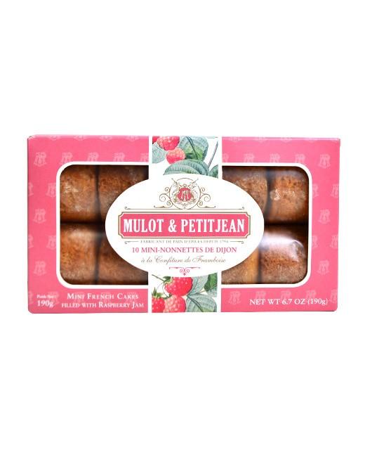 Mini-nonnettes of Dijon - strawberry jam - Mulot & Petitjean