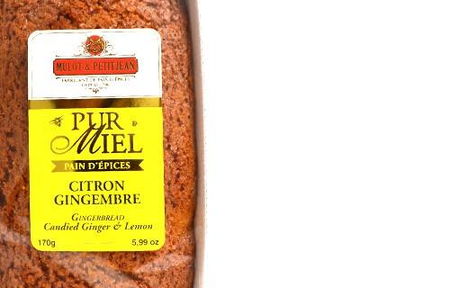 Pure honey gingerbread - Lemon and ginger - Mulot & Petitjean