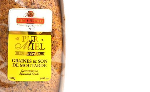 Pure honey gingerbread - Mustard seed and bran - Mulot & Petitjean