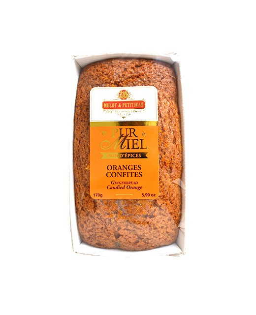 Pure honey gingerbread - candied oranges - Mulot & Petitjean