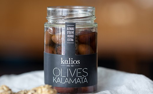 Kalamata olives in extra virgin olive oil - Kalios