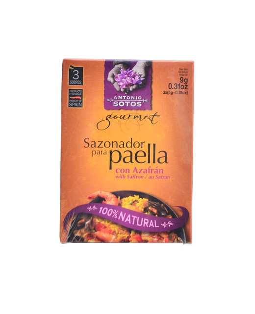 Mixture of paella spice with saffron - Antonio Sotos