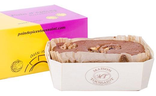 Gingerbread with AOC Isère walnuts (certified origin) - Maison Toussaint