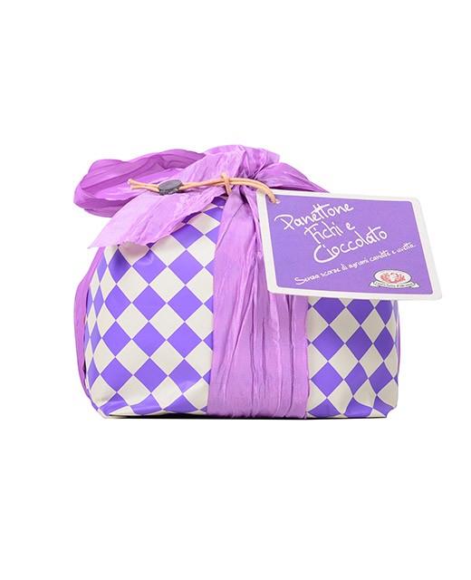 Panettone with figs and chocolate - Rustichella d'Abruzzo