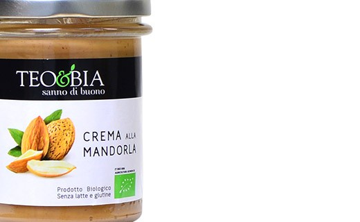 Spread - organic almond cream - Teo & Bia