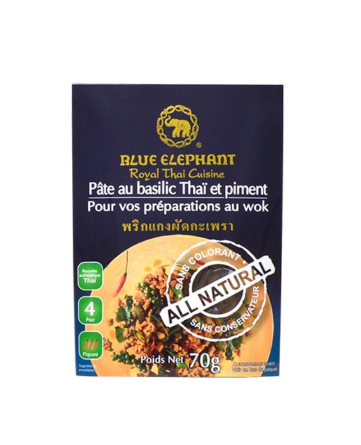 Thai basil paste with chili pepper - Blue Elephant
