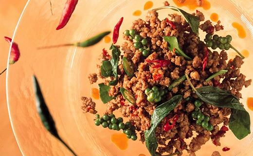 Thai basil paste with chili pepper - Blue Elephant