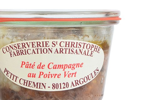 Countryside-style pâté with green pepper - Conserverie Saint-Christophe