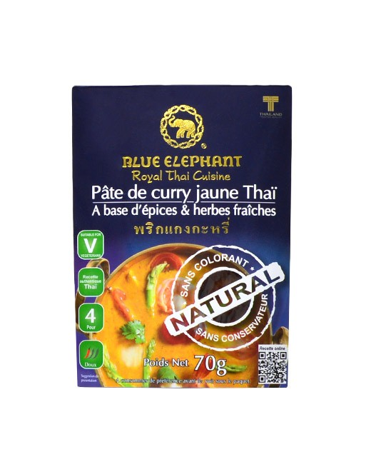 Yellow curry paste - Blue Elephant