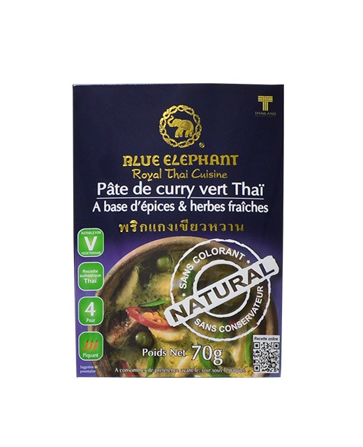 Green curry paste - Blue Elephant