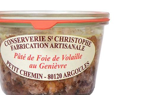 Chicken liver pâté with Genièvre - Conserverie Saint-Christophe