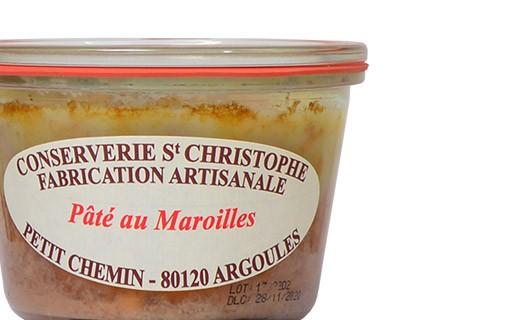 Pork pâté with Maroilles - Conserverie Saint-Christophe