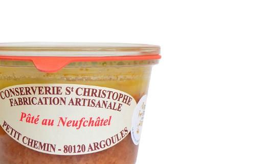 Pâté with Neufchâtel - Conserverie Saint-Christophe