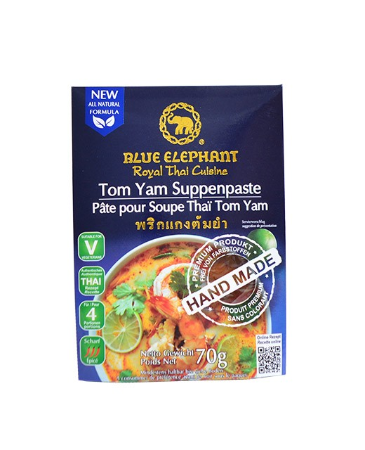 Paste for Thai Tom Yam Soup - Blue Elephant