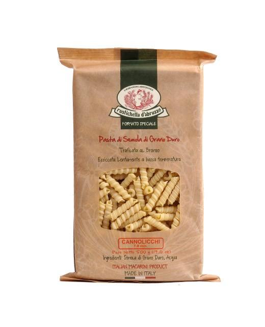 Cannolicchi pasta - Rustichella d'Abruzzo