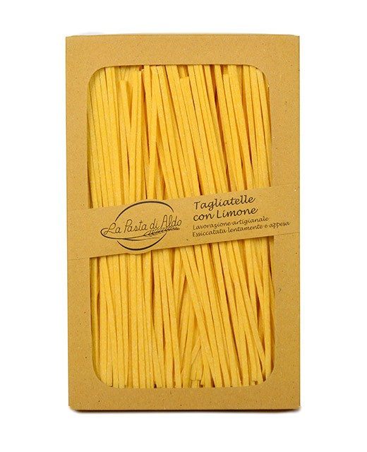 Tagliatelle with lemon