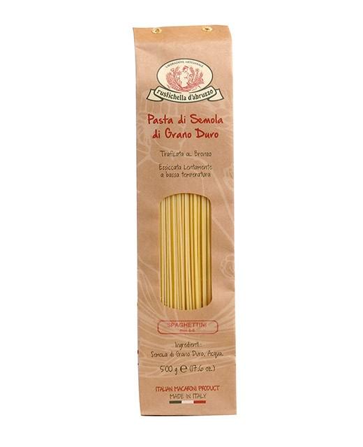 Spaghettini pasta