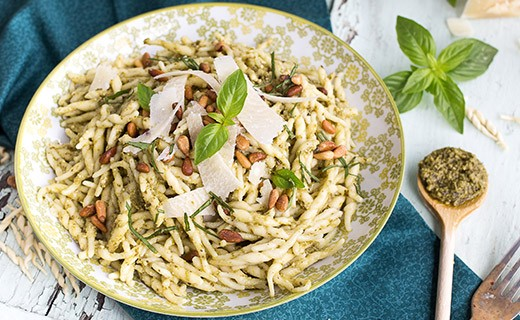 Organic pesto with basil - La Macina Ligure