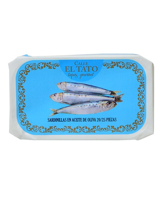 Little sardines in olive oil - Calle el Tato