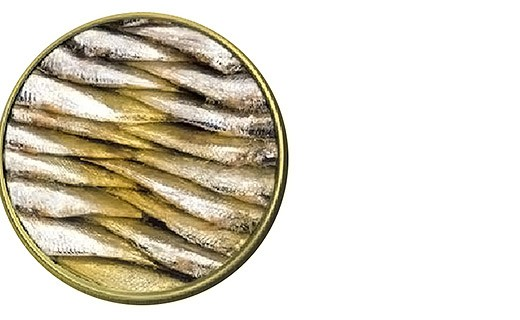 Small Sardines in spicy olive oil - Ramon Peña