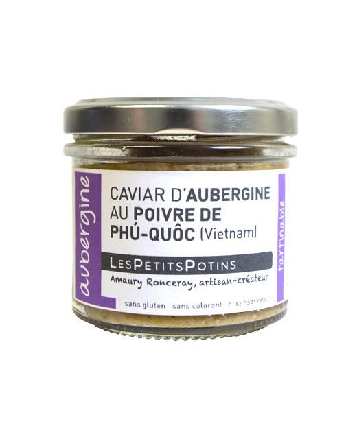 Aubergine caviar with Phu Quoc pepper - Aubergine - Petits Potins (Les)