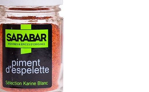 Espelette pepper powder - Sarabar