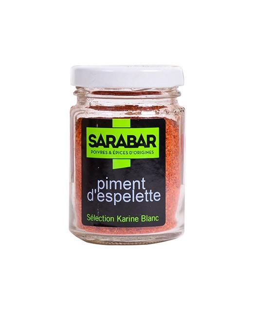 Espelette pepper powder - Sarabar