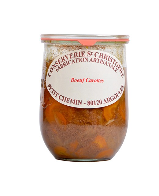 Ready-made Boeuf Carottes (beef and carrots) - Conserverie Saint-Christophe