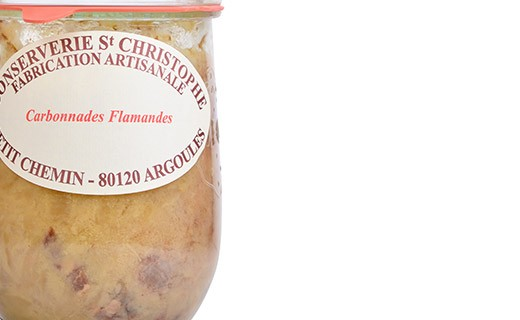 Ready-made Carbonnade Flamande (flemish beef and beer stew) - Conserverie Saint-Christophe