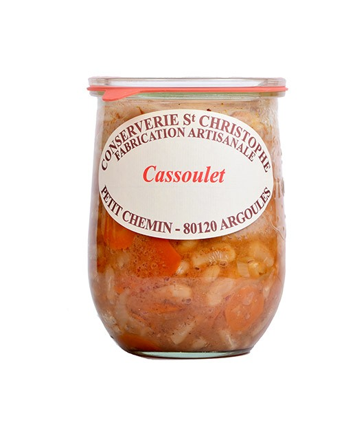 Ready-made Cassoulet - Conserverie Saint-Christophe