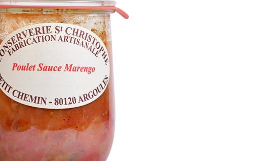 Ready-made Chicken Marengo - Conserverie Saint-Christophe