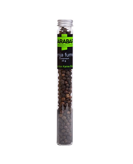 Penja smoked black pepper