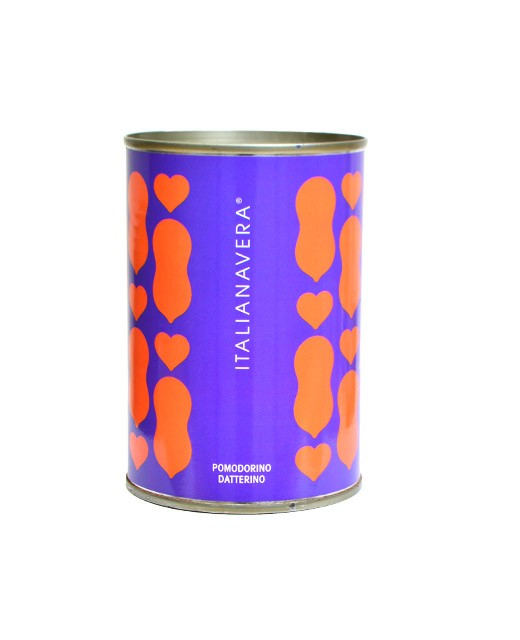 Peeled tomatoes - Datterino variety - Italianavera