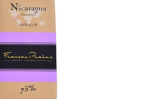 Dark chocolate tablet - Nicaragua - Pralus