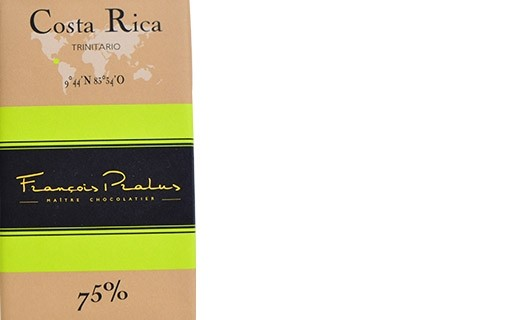 Tablet of Costa Rica dark chocolate - Pralus