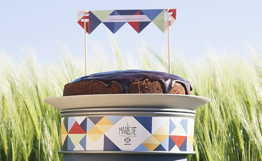 Preparation for birthday cake - organic - Marlette
