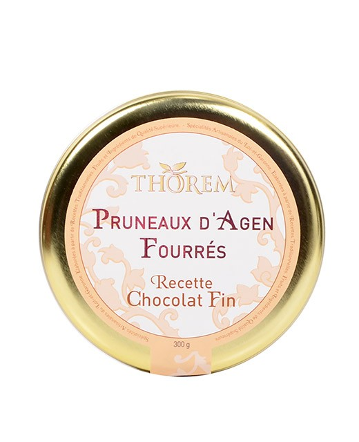 Dried prunes stuffed with fine chocolate - Thorem