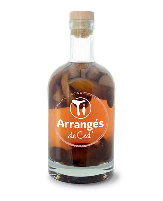 Flavoured Rum - Banana and Cocoa - Les Rhums de Ced'