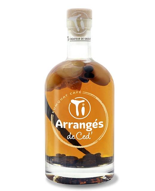 Flavoured rum - Kumquat and Café - Les Rhums de Ced'
