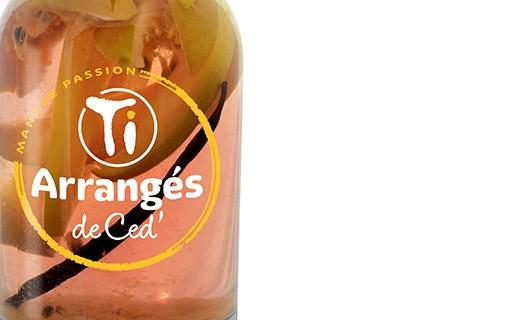 Flavoured Rum - Mango and Passion fruit - Les Rhums de Ced'